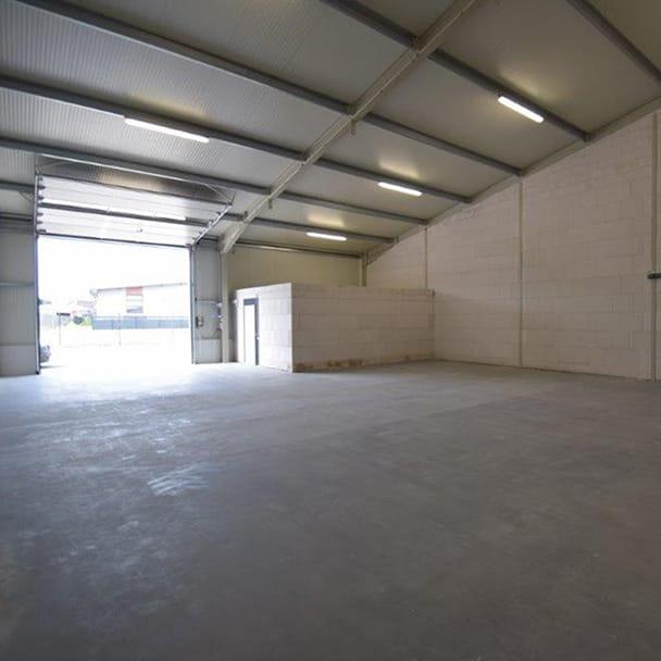 Hallenfläche im Firmenquartier Oldenburg-Nord